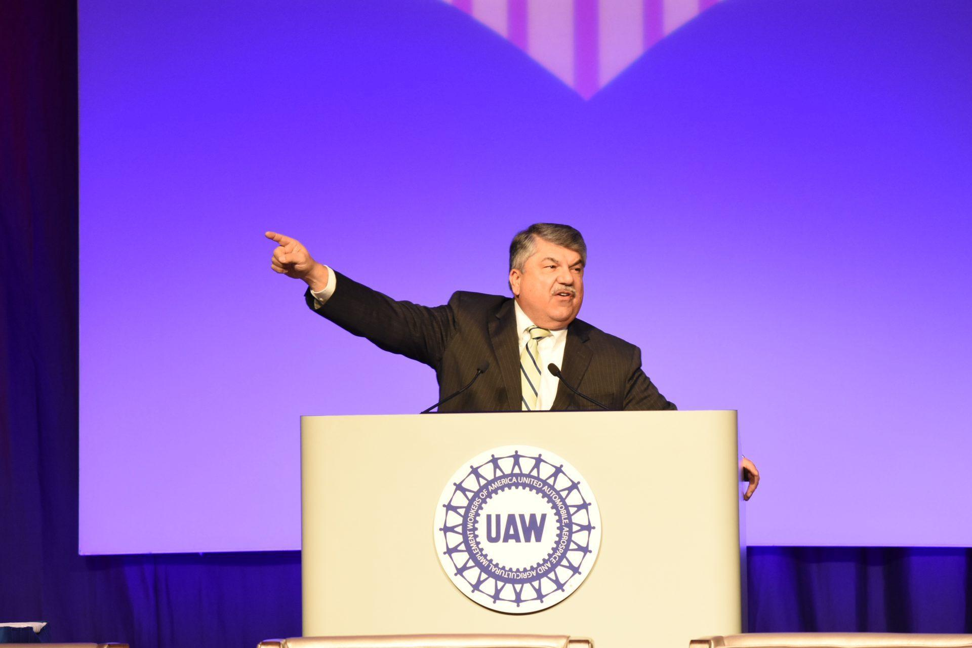 AFL-CIO President Richard Trumka